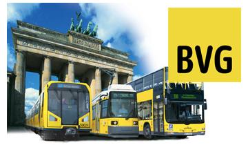 BVG Verkehrsmittel